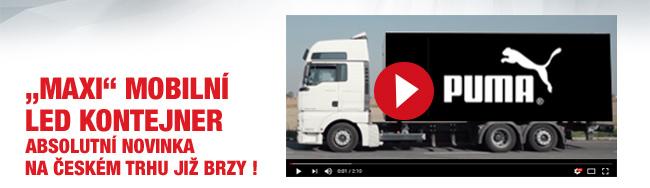 Video: Maxi mobilní led kontejner - absolutní novinka na českém trhu již brzy!